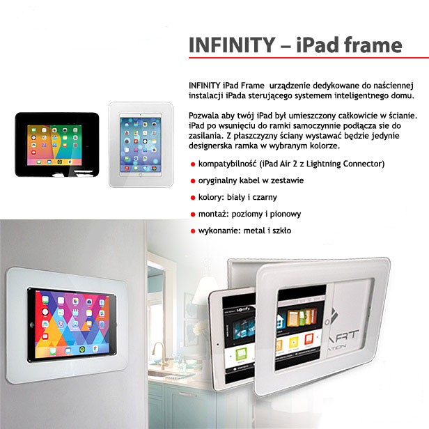 INFINITY iPad Frame cinemashop